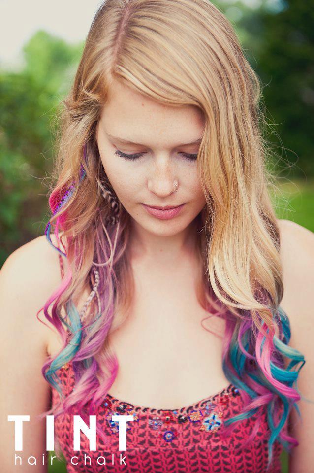 Tint hair chalk - krede za kosu