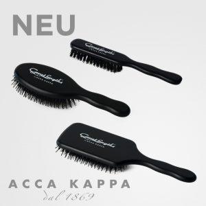Acca Kappa black brushes