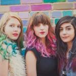 Tint hair chalk - krede za kosu: pink, zelena, crvena