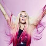 Flow ekstenzije blond-pink (© Great Lengths)