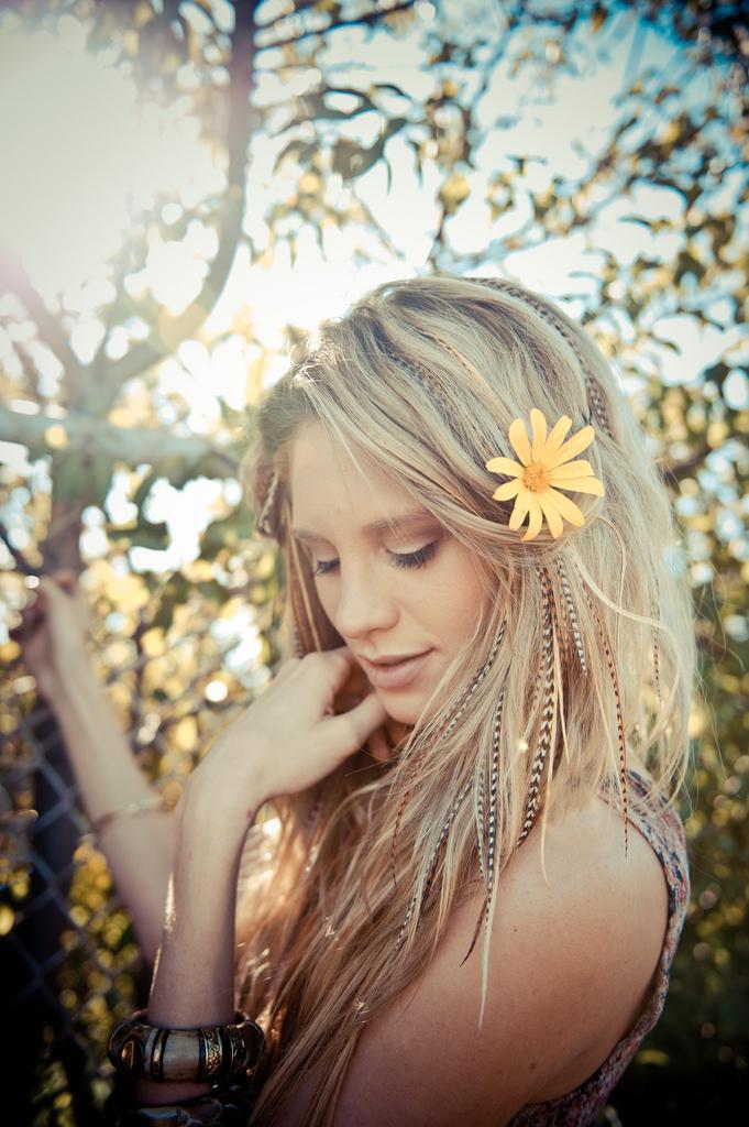 fine blond