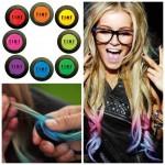 Tint hair chalk - krede za kosu, različite boje