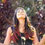 Tint hair chalk - crvena